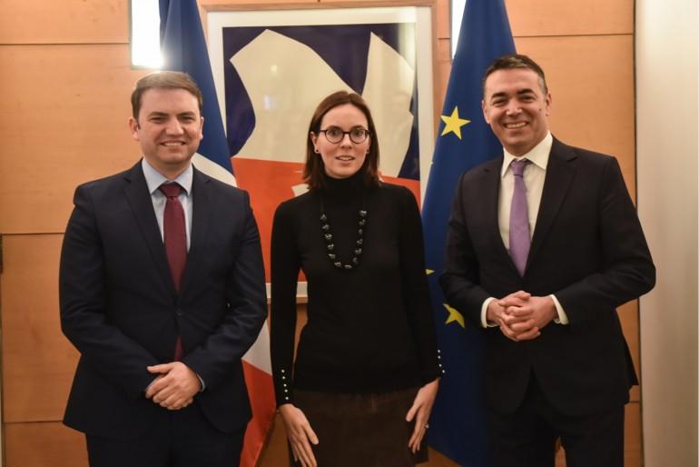 Βόρεια Μακεδονία: Το Παρίσι επισκέφθηκαν Osmani και Dimitrov