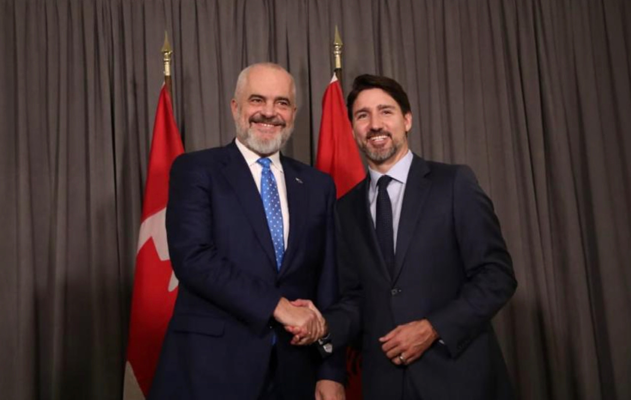 Αλβανία: Συνάντηση Rama Trudeau στο Μόναχο