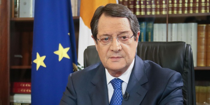 Κύπρος: Συγχαρητήρια Αναστασιάδη στον Ersin Tatar