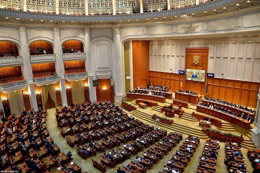 Ρουμανία: Αναγνώστηκε η πρόταση μομφής στην Ολομέλεια