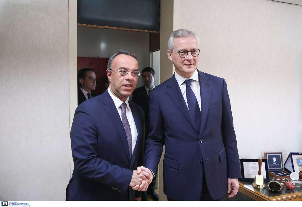 Συνάντηση Σταϊκούρα-Le Maire: Ανησυχία για τις οικονομικές επιπτώσεις του κορωναϊού