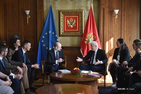 Επίσημη επίσκεψη της αντιπροσωπείας του Ευρωκοινοβουλίου στο Μαυροβούνιο