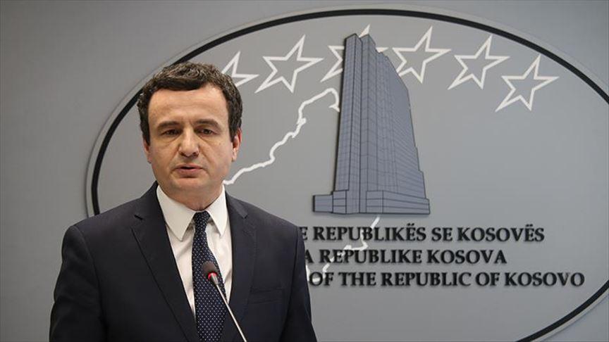 Κοσσυφοπέδιο: Την εξομάλυνση των σχέσεων Σερβίας Κοσσυφοπεδίου επιθυμεί ο Kurti