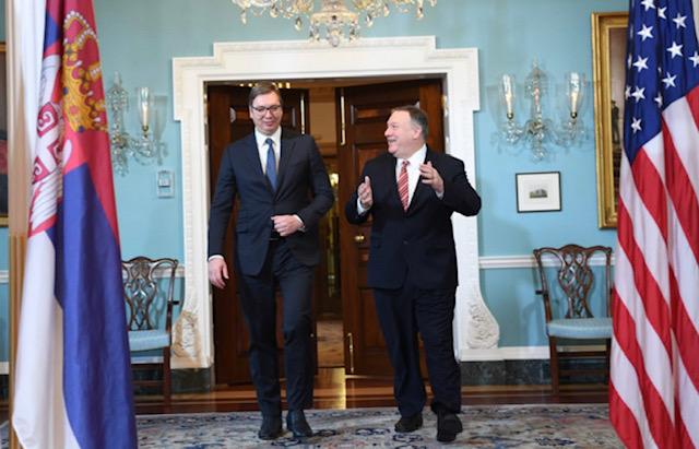 Vucic: Η Σερβία χρειάζεται τις ΗΠΑ ως φίλο
