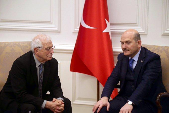 Borrell: Τουρκία και ΕΕ πρέπει να εργαστούν χέρι-χέρι