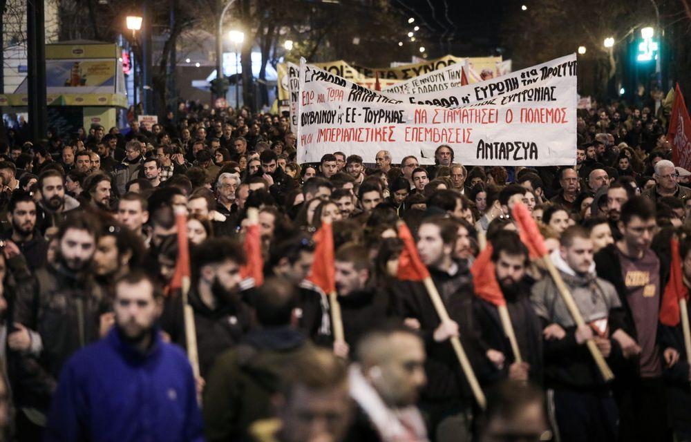 Ελλάδα: Πορείες αλληλεγγύης σε πρόσφυγες και μετανάστες πραγματοποιήθηκαν σε Αθήνα και Θεσσαλονίκη