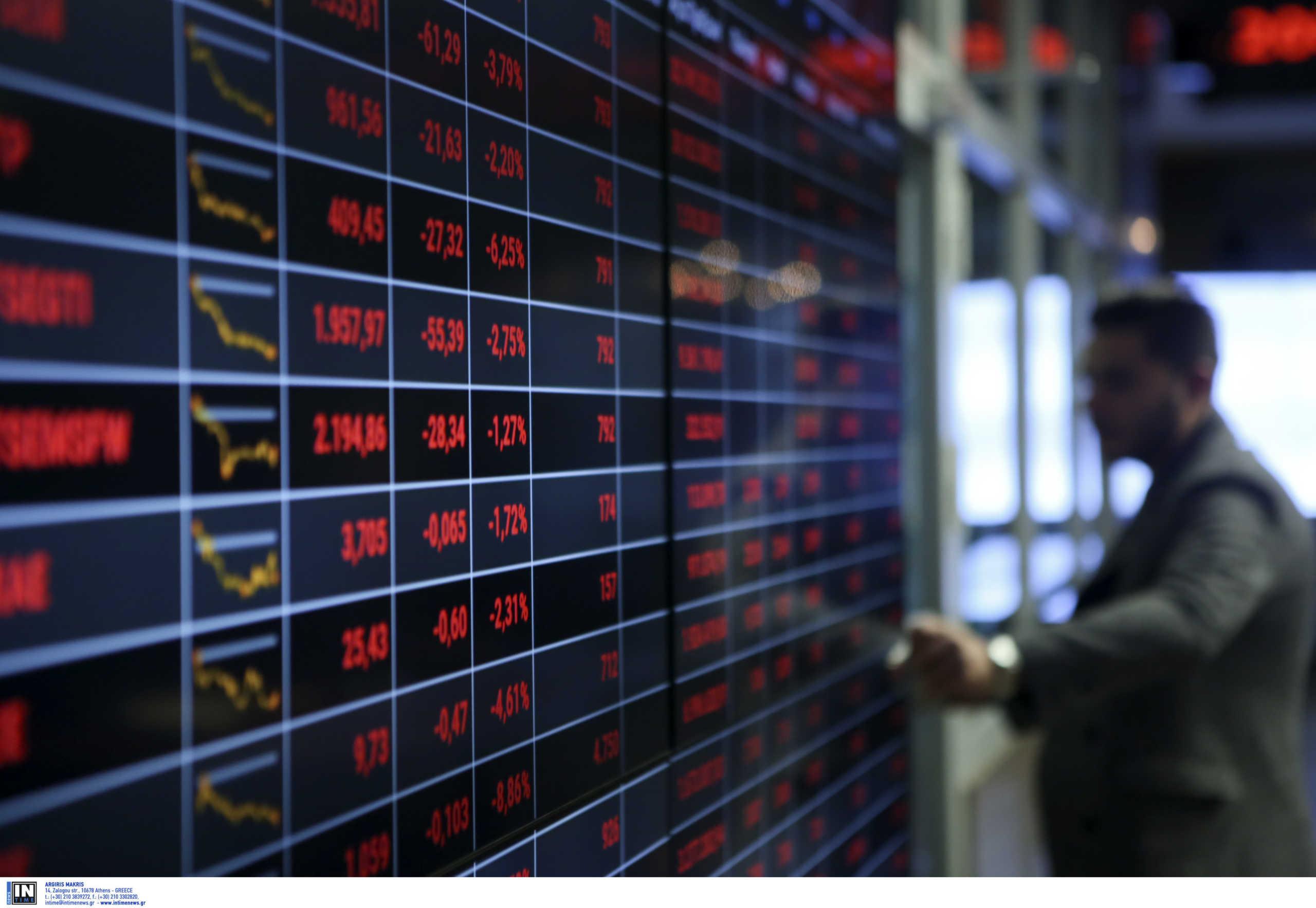 Νέα βουτιά του Χρηματιστηρίου Αθηνών λόγω κορωνοϊού
