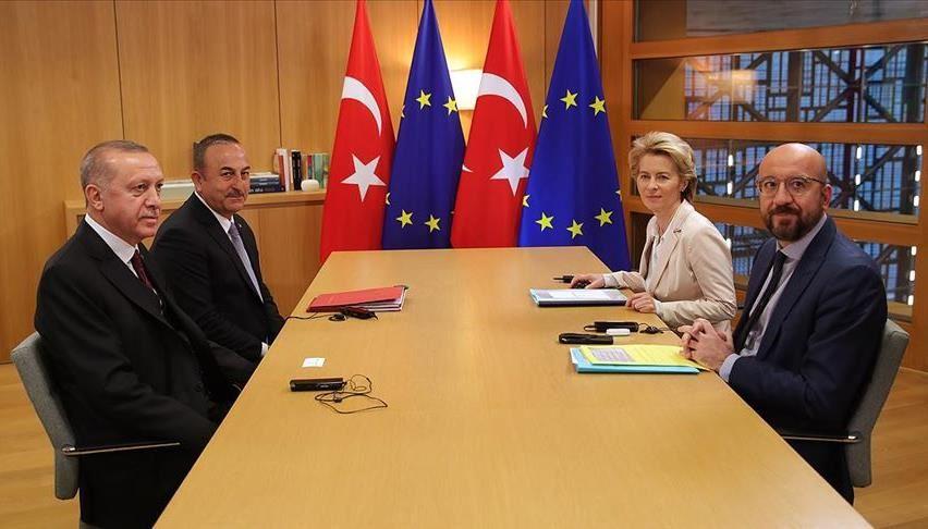 """Τουρκία: Τα αιτήματα του έδωσε ο Erdogan στις Βρυξέλλες-""""Επανεξέταση"""" της Κοινής Δήλωσης του 2016"""