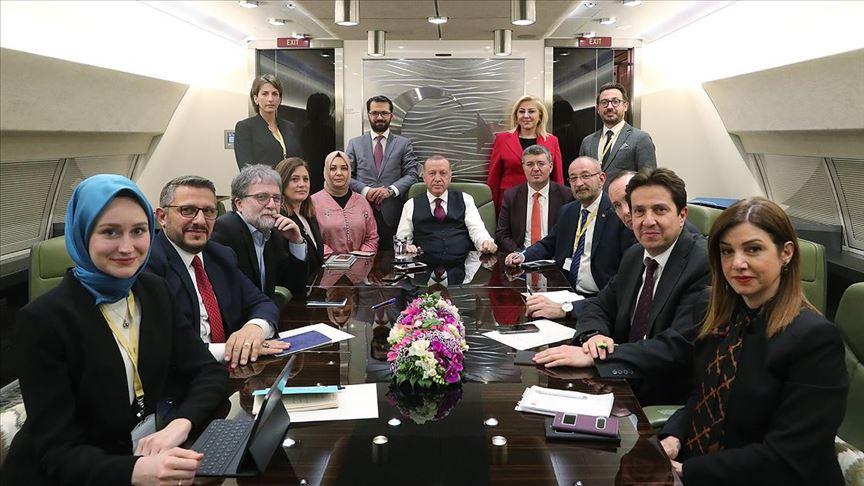 Erdogan: «Την Τρίτη θα συναντηθώ με Merkel και Macron»