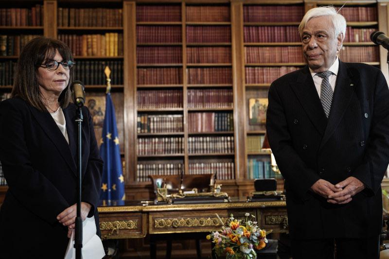 Ελλάδα: Ορκίστηκε η Κατερίνα Σακελλαροπούλου Πρόεδρος της Δημοκρατίας