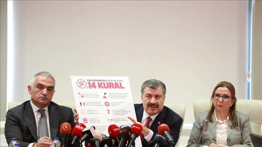 Τουρκία: Πέντε τα κρούσματα- Αναστολή πτήσεων από 14 χώρες