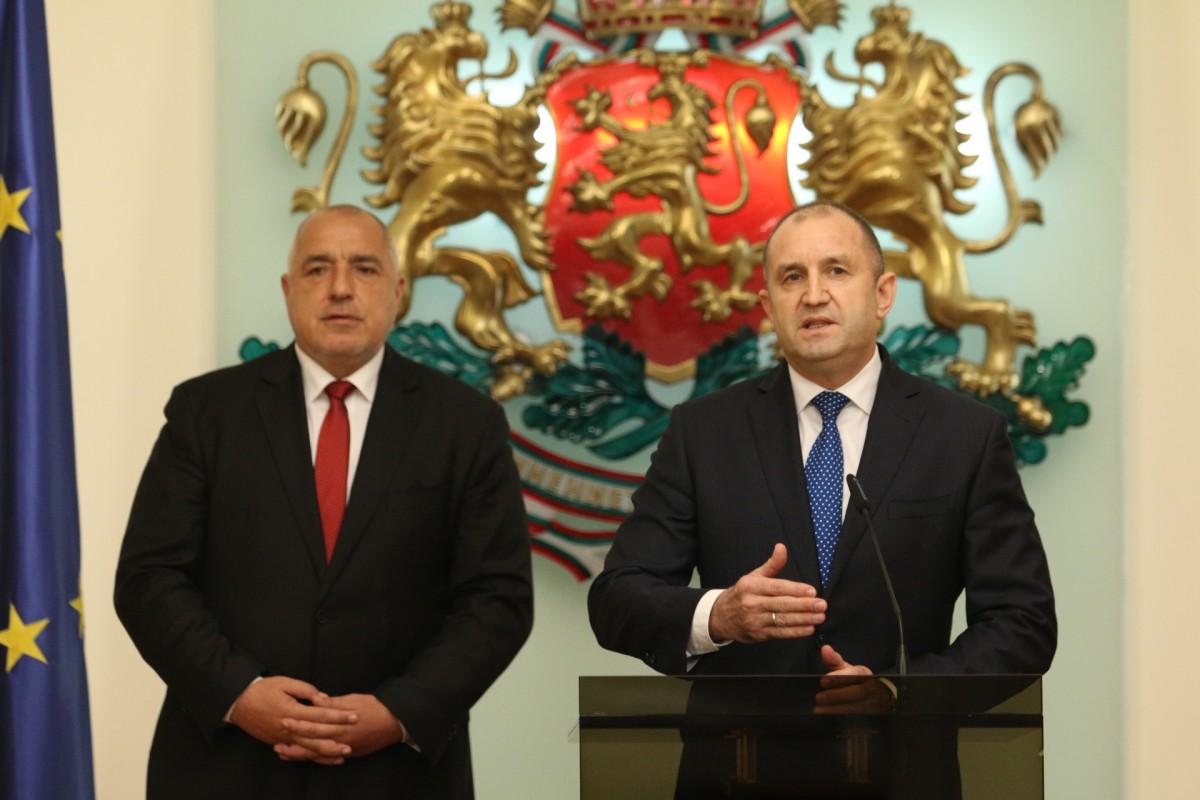 Βουλγαρία: Ενωμένοι θα τα καταφέρουμε δήλωσαν Radev και Borissov