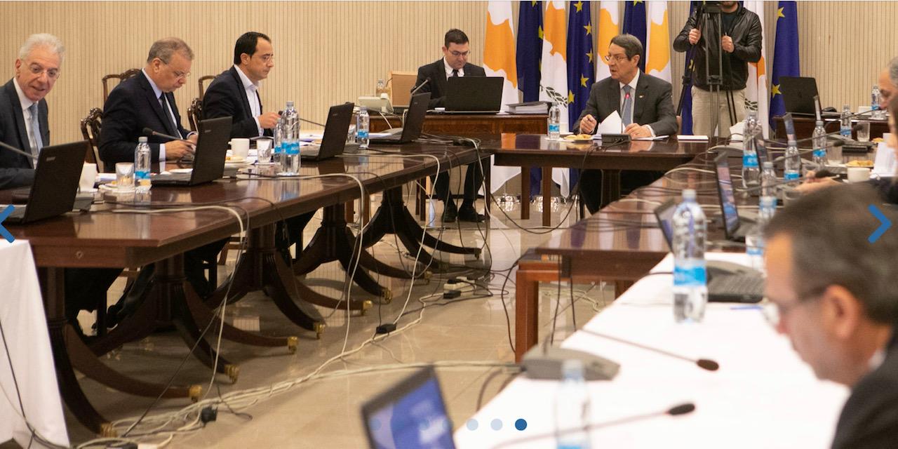 Κύπρος: Συνεδρίασε το Υπουργικό Συμβούλιο και για τον κορωνοϊό