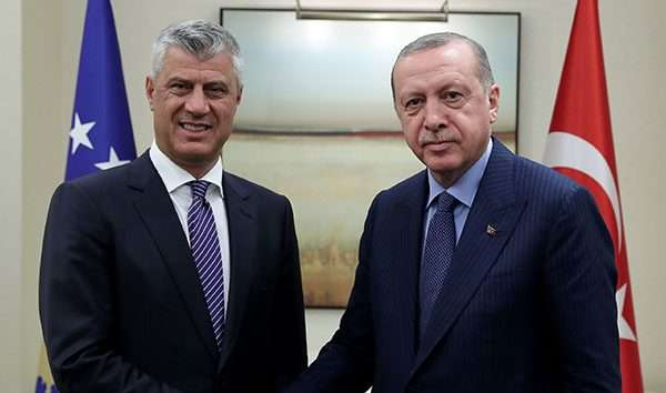 Κοσσυφοπέδιο: Βοήθεια από την Τουρκία ζήτησε ο Thaci για να αντιμετωπίσει τον COVID-19