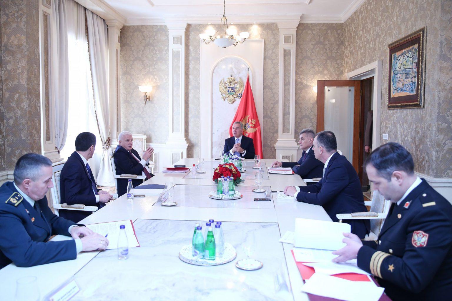 Μαυροβούνιο: Τα κυβερνητικά αποτρεπτικά μέτρα απέφεραν καρπούς – Σύγκληση Συμβουλίου Άμυνας και Ασφάλειας