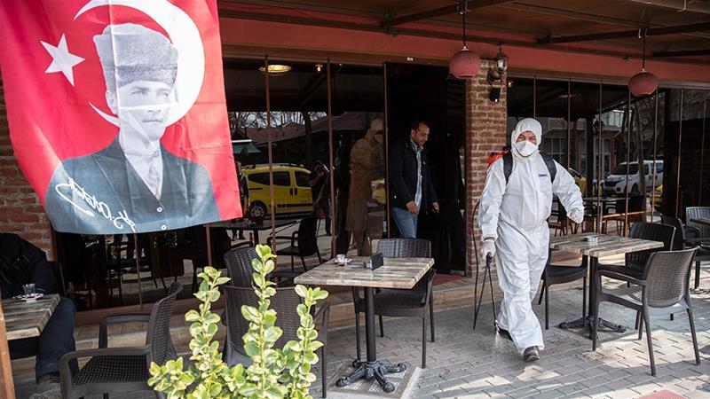Τουρκία: Τραγικός ο απολογισμός του κορωνοϊού 59 νεκροί, 2433 κρούσματα