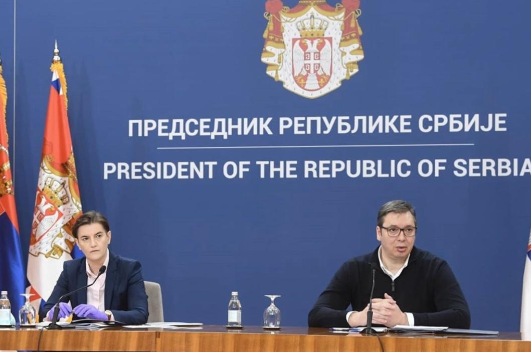 Σερβία: Προσεγγίζουμε τη δύσκολη περίοδο για τον κορωνοϊό, δήλωσε ο Vucic