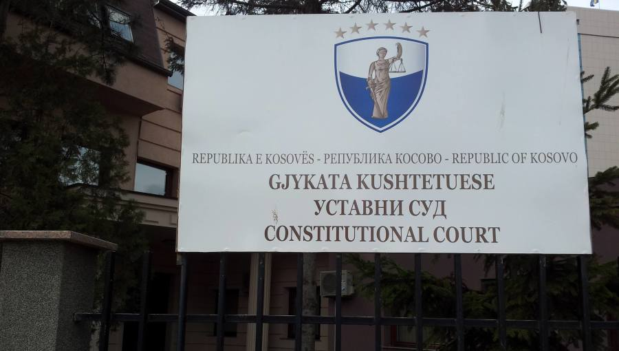 Κοσσυφοπέδιο: Απαράδεκτη έκρινε την απόφαση για περιορισμό της κυκλοφορίας το Συνταγματικό Δικαστήριο