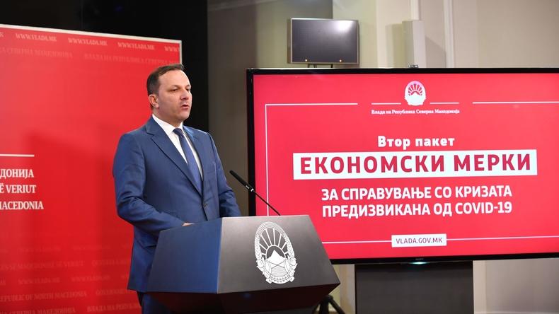Βόρεια Μακεδονία: Ανακοινώθηκε το δεύτερο πακέτο μέτρων