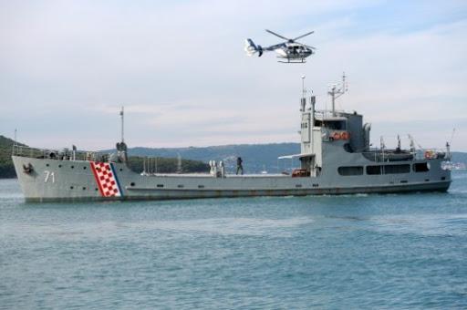 Η κροατική ακτοφυλακή συμμετέχει στις επιχειρήσεις της FRONTEX στην Ελλάδα