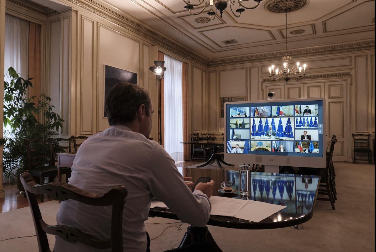 Ελλάδα: Την συγκρότηση ενός Ταμείου Ανάκαμψης στήριξε ο Πρωθυπουργός στη Σύνοδο Κορυφής της ΕΕ