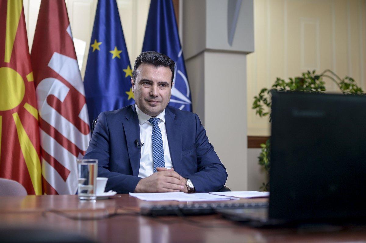Zaev: «Η ΕΕ είναι ο μεγαλύτερος εταίρος της Βόρειας Μακεδονίας και των Δυτικών Βαλκανίων»