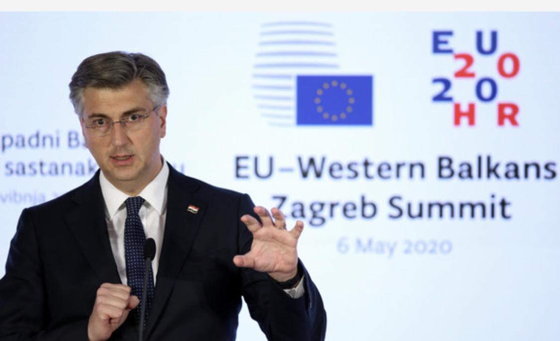 Plenkovic: Η ΕΕ είναι μαζί με τις χώρες των Δυτικών Βαλκανίων να τις βοηθήσει στην πορεία προς την ένταξη