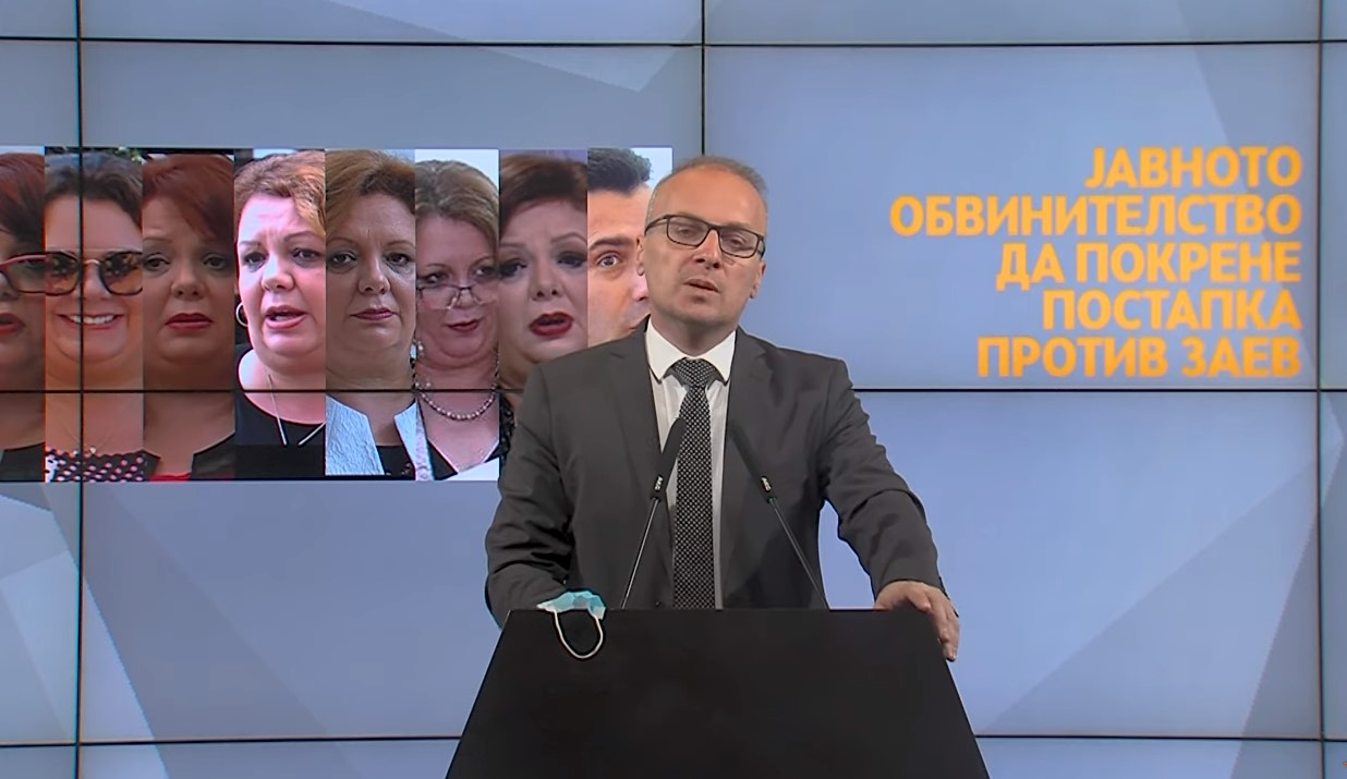 Βόρεια Μακεδονία: Να δικαστεί ο Zaev ζητά ο Milososki