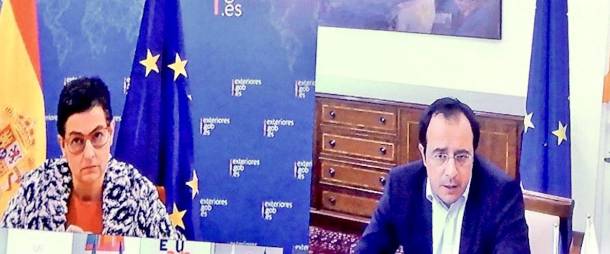 Χριστοδουλίδης και Δένδιας συμμετείχαν σε προπαρασκευαστική τηλεδιάσκεψη για το ΣΕΥ