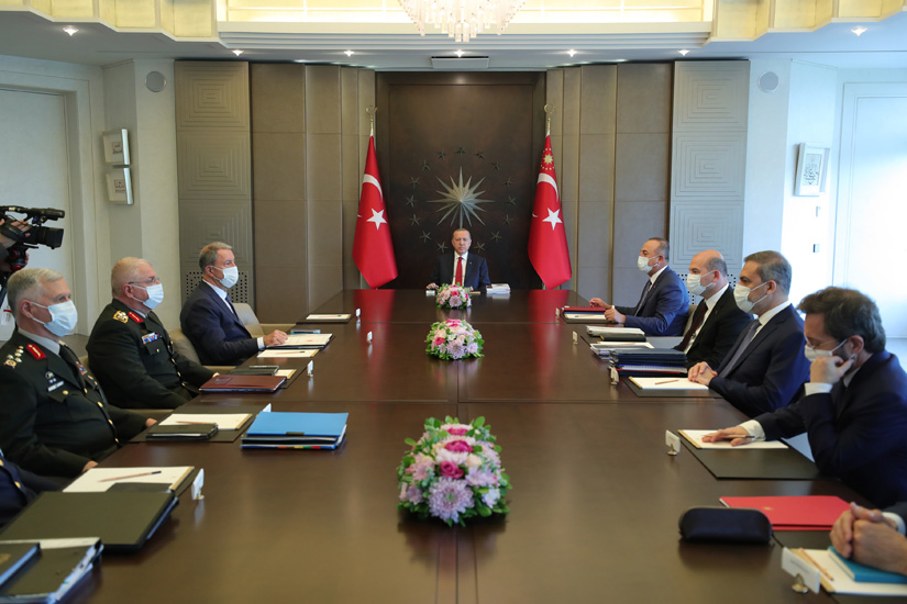 Τουρκία: Έκτακτη σύσκεψη Ασφαλείας του Erdogan στην Κωνσταντινούπολη