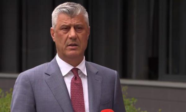 Κοσσυφοπέδιο: Παραιτήθηκε ο Thaçi μετά την επιβεβαίωση του κατηγορητηρίου από το Ειδικό Δικαστήριο