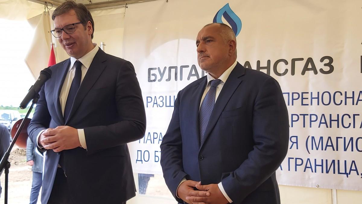 Βουλγαρία: Borissov και Vucic επιθεώρησαν σημαντικά έργα κοινού ενδιαφέροντος