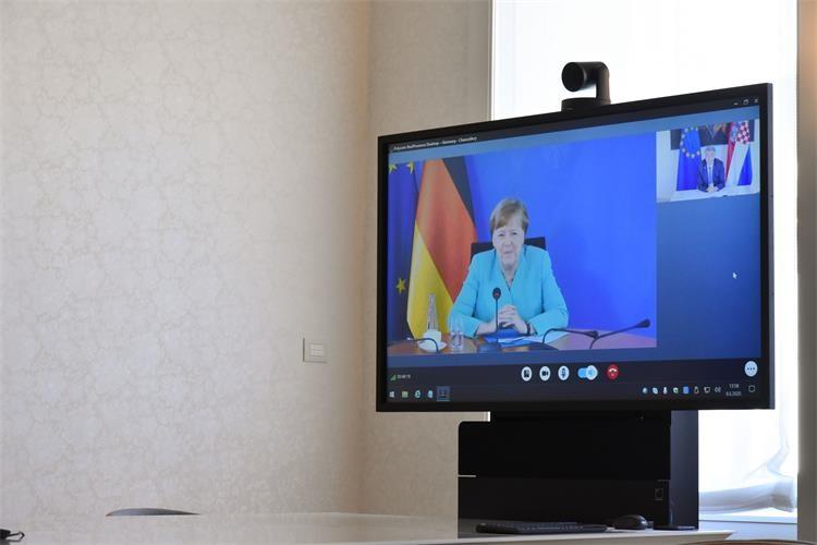 Κροατία: Ο Plenković πραγματοποίησε τηλεδιάσκεψη με τη Merkel