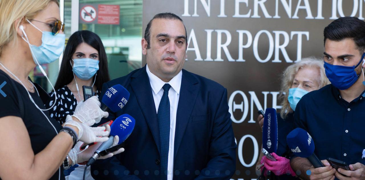 Κύπρος: Επαναφορά της συνδεσιμότητας με άλλες χώρες – άφιξη πρώτης πτήσης από το Ισραήλ