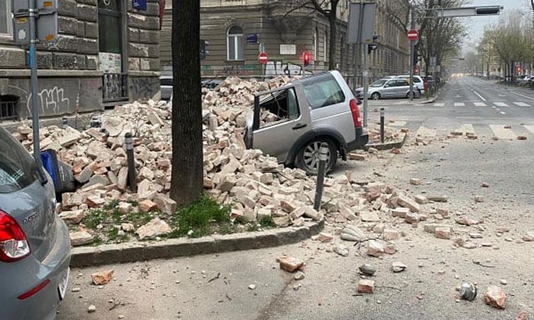 Η Κροατία θα ζητήσει υποστήριξη από την ΕΕ για την ανοικοδόμηση κτιρίων που έχουν καταστραφεί από τον σεισμό