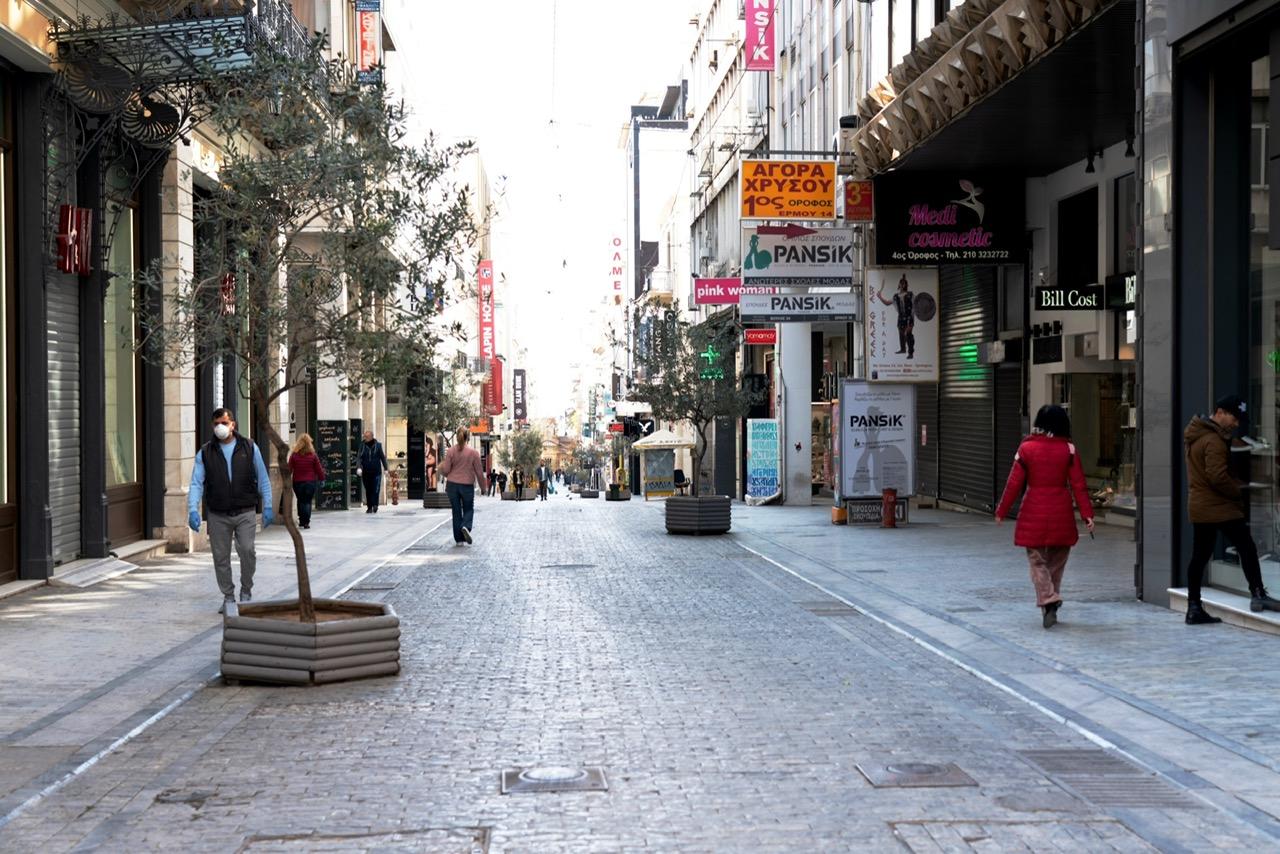 Ελλάδα: Μηδενικοί τζίροι στα τουριστικά καταστήματα της Αθήνας