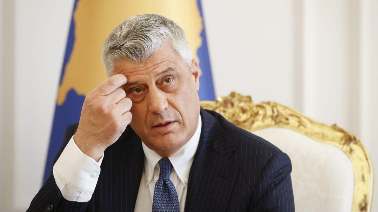 Thaçi: Θα συνεργαστώ στενά με τον πρωθυπουργό, δεν έχω πληροφορίες σχετικά με πρόγραμμα του Lajçak