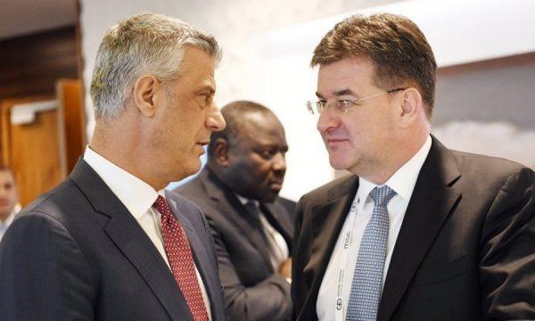 Ο Thaçi θα συναντηθεί τελικά με τον Lajçak σήμερα το απόγευμα