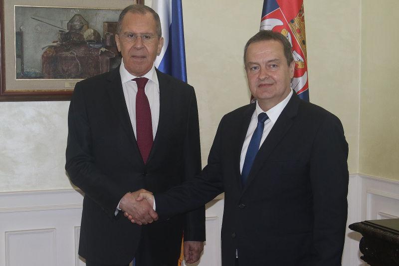 Σερβία: Ενίσχυση και εμβάθυνση των σχέσεων τους συζήτησαν Dačić-Lavrov