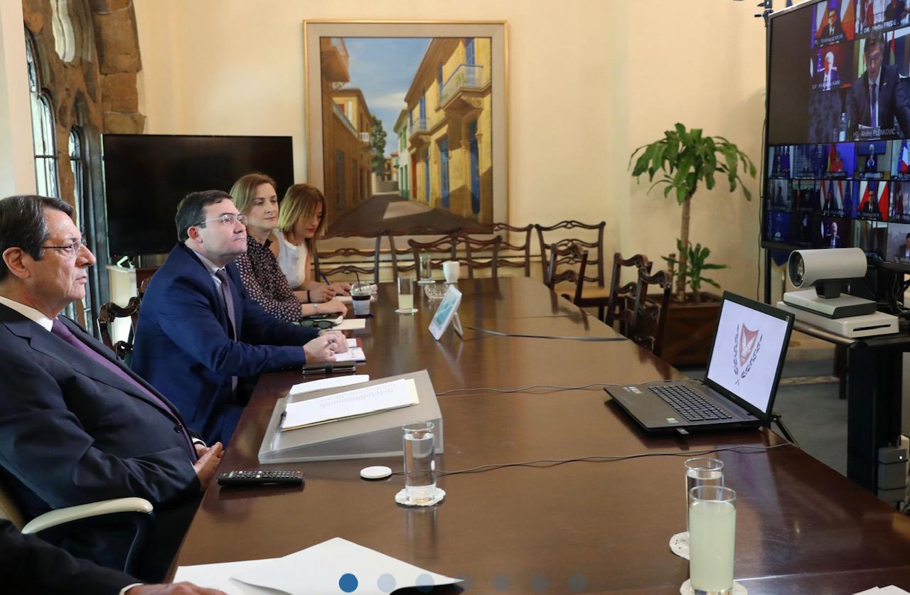 Κύπρος: Την ανάγκη έγκαιρης υιοθέτησης του νέου προϋπολογισμού, εξέφρασε ο Αναστασιάδης