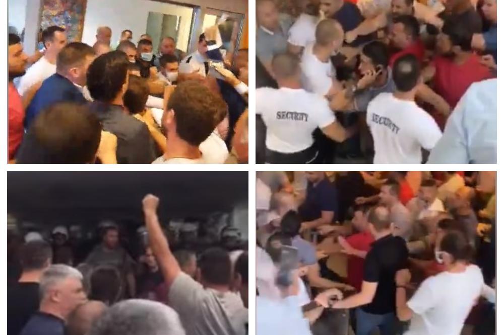 Μαυροβούνιο: Αναζωπύρωση της έντασης στη Budva