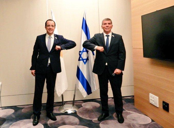 Κύπρος: Συνάντηση Χριστοδουλίδη-Ashkenazi στο Ισραήλ