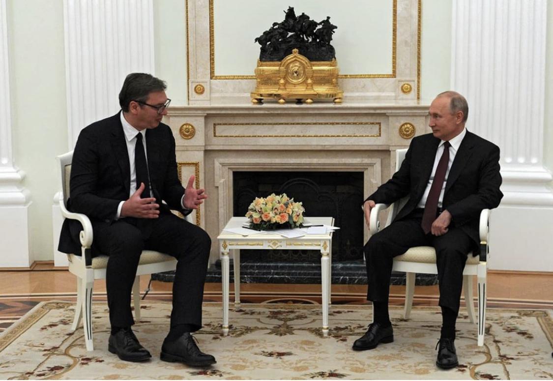 Ρώσος Πρέσβης: Πλήρης και ανεύθυνη κατασκευή η είδηση για ακύρωση της επίσκεψης Putin στο Βελιγράδι