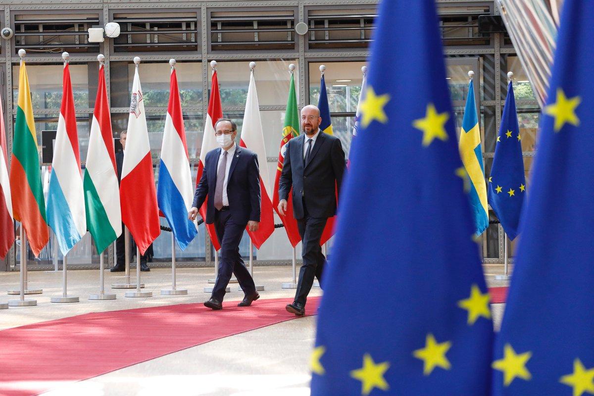 Κοσσυφοπέδιο: Με τον Charles Michel είχε συνάντηση ο Hoti στις Βρυξέλλες