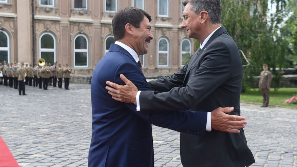 Σλοβενία: Ο Pahor πραγματοποιεί επίσημη επίσκεψη στην Ουγγαρία