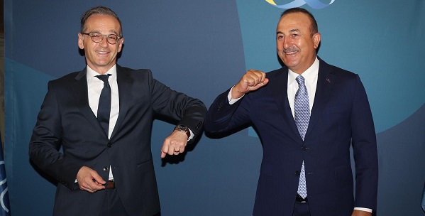 Τουρκία: Με Maas και Seehofer συναντήθηκε ο Çavuşoğlu στη Γερμανία