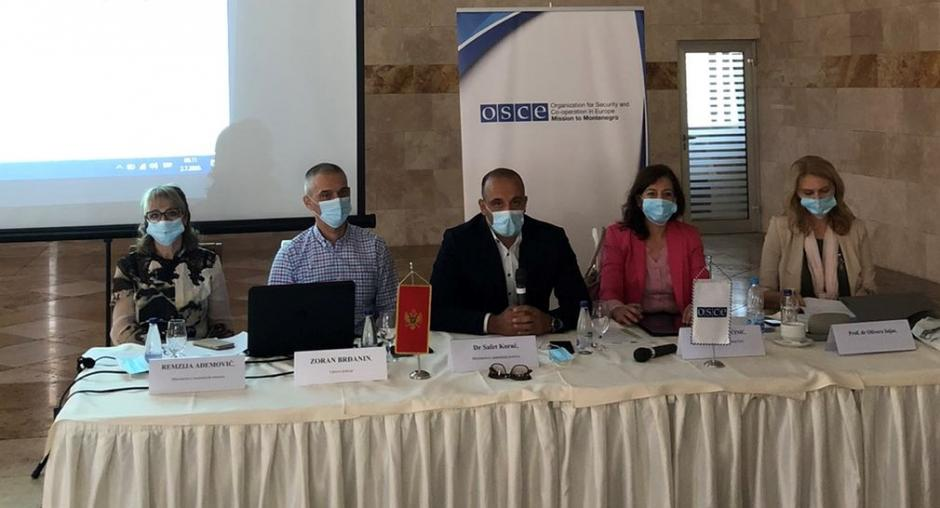 Μαυροβούνιο: Η αποστολή του ΟΑΣΕ υποστηρίζει την κατάρτιση Αναπτυξιακής Στρατηγικής για την Αστυνομία