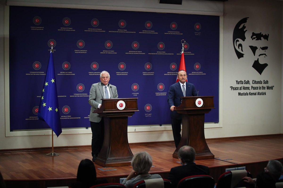 Τουρκία: Έναρξη διαπραγματεύσεων Ελλάδας-Τουρκίας ζήτησε ο Borrell
