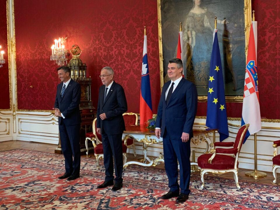 Κροατία: Ο Milanovic συμμετείχε σε τριμερή συνάντηση στη Βιέννη
