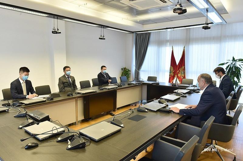 Μαυροβούνιο: O Covid-19 αποτελεί μια παγκόσμια πρόκληση, δηλώνει ο Κινέζος Πρέσβης